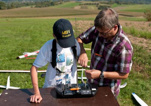 Elektromeisterschaft 2011 - Joscha macht sich bereit
