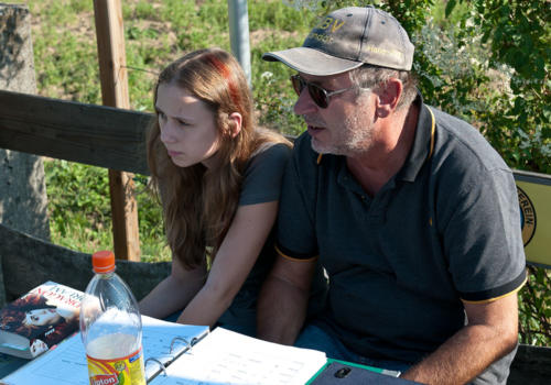 Elektromeisterschaft 2011 - Hans-Jörg mit Tochter Jenny