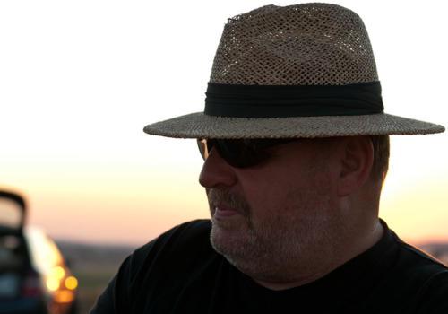 Elektromeisterschaft 2011 - Werner im Sonnenuntergang